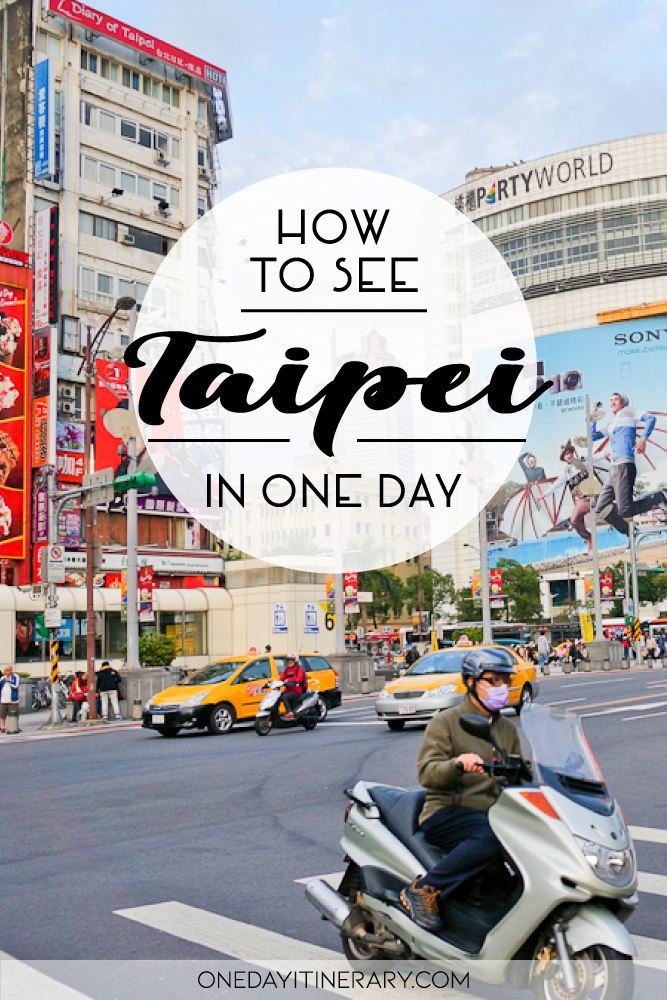 How to see Taipei in one day