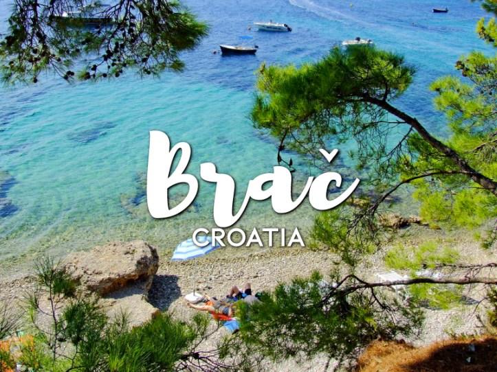 One day in Brac Itinerary