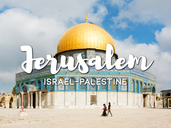 One day in Jerusalem Itinerary