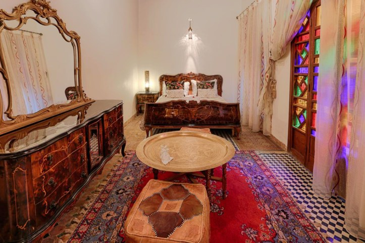 Riad Toyour- Riad of birds Room