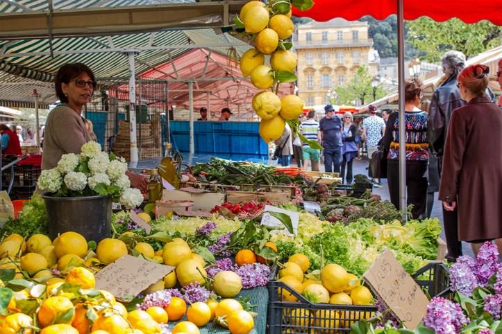 The Cours Saleya Market