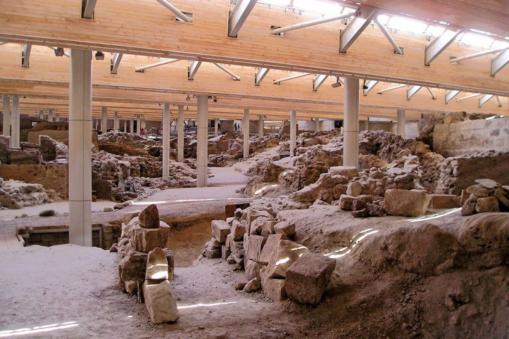 Akrotiri archeological site