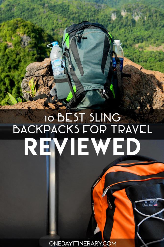 10 Best Sling Backpacks for Travel - Reviewed
