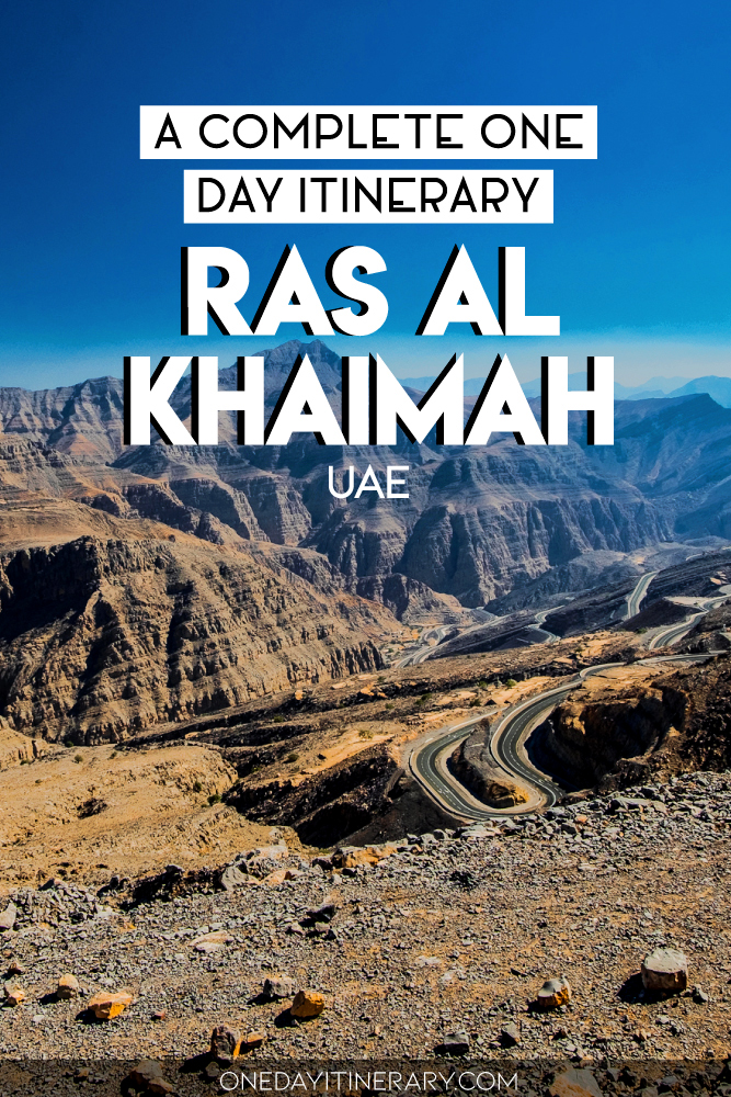 A complete one day itinerary for Ras Al Khaimah, UAE