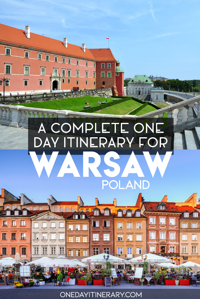 A complete one day itinerary for Warsaw, Poland 2