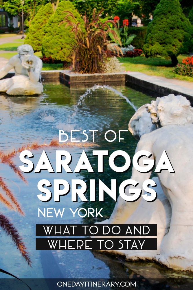 Best of Saratoga Springs, New York - What to do and where to stay