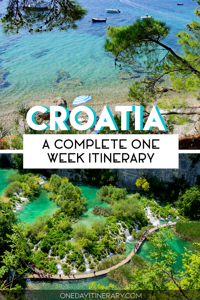 Croatia - A complete one week itinerary