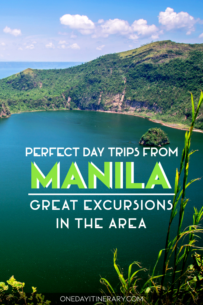 Perfect day trips from Manila - Great excursions in the area