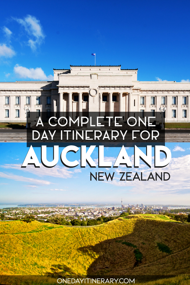 A complete one day itinerary for Auckland, New Zealand 2