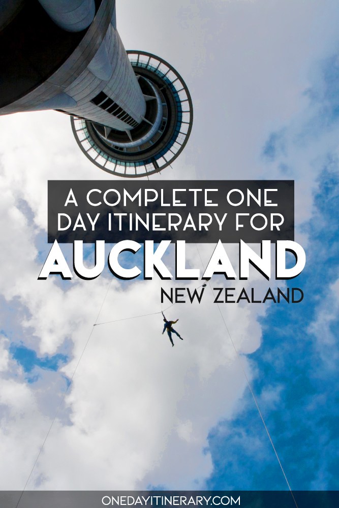A complete one day itinerary for Auckland, New Zealand