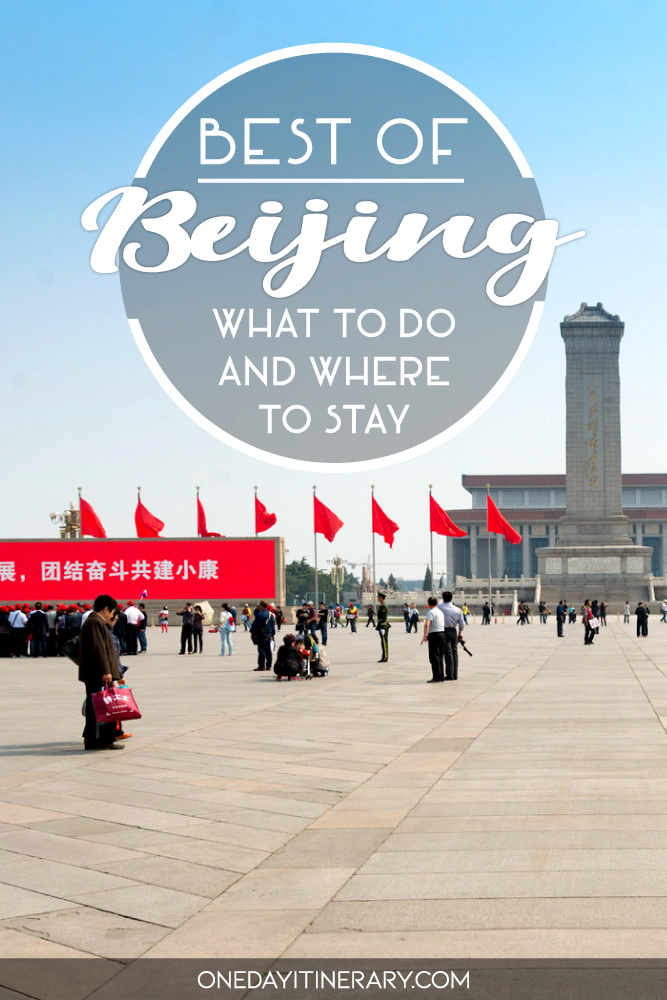 Best of Beijing - What to do and where to stay