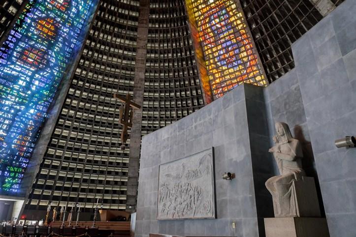 Catedral de Sao Sebastiao Interior, Rio de Janerio