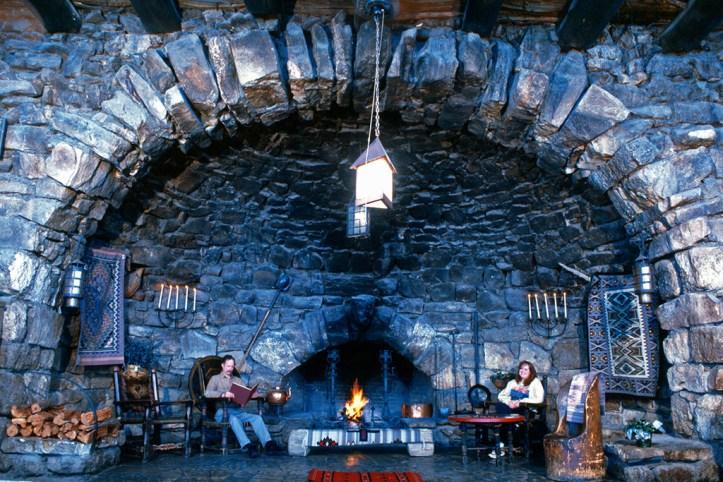 Hermit's Rest Fireplace