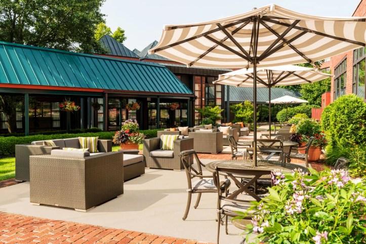 The Saratoga Hilton Terrace