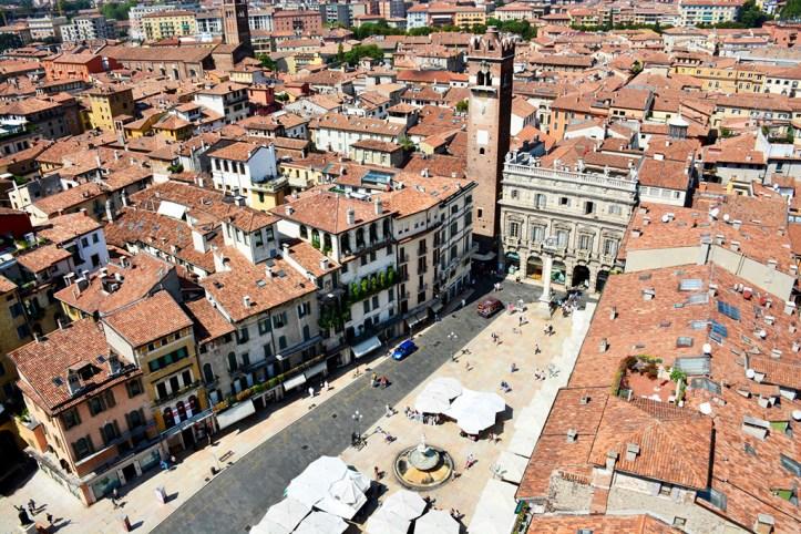 View on Verona from Torre dei Lamberti