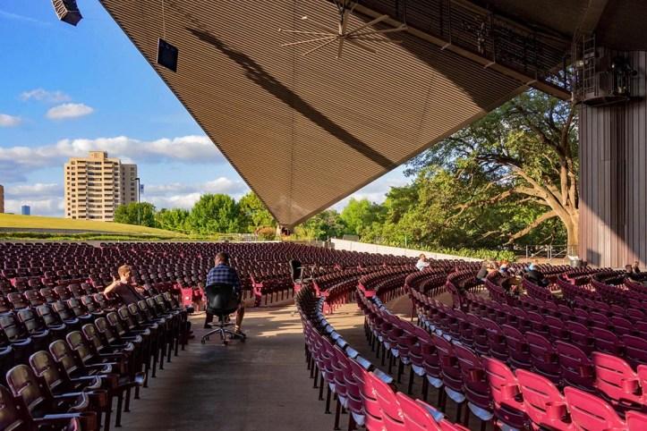 Miller Outdoor Theatre, Houston