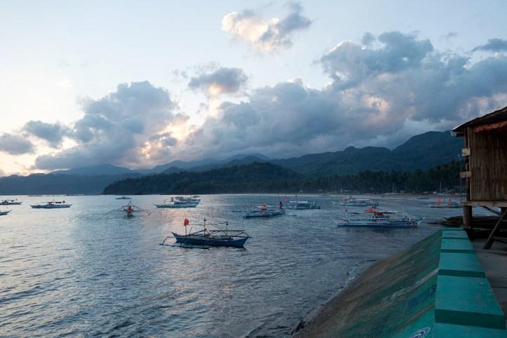 Morning at Sabang waterfront