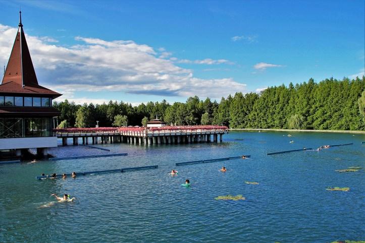 Heviz Thermal Lake, Lake Balaton