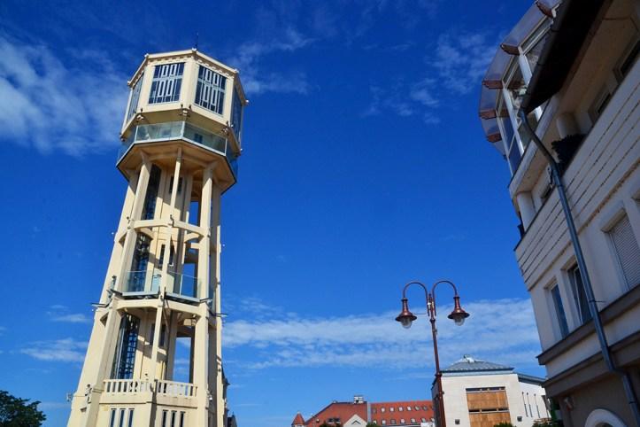 Siofok Water Tower, Lake Balaton