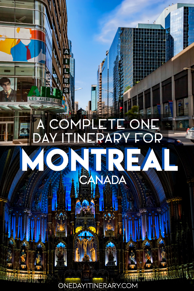 One day in Montreal