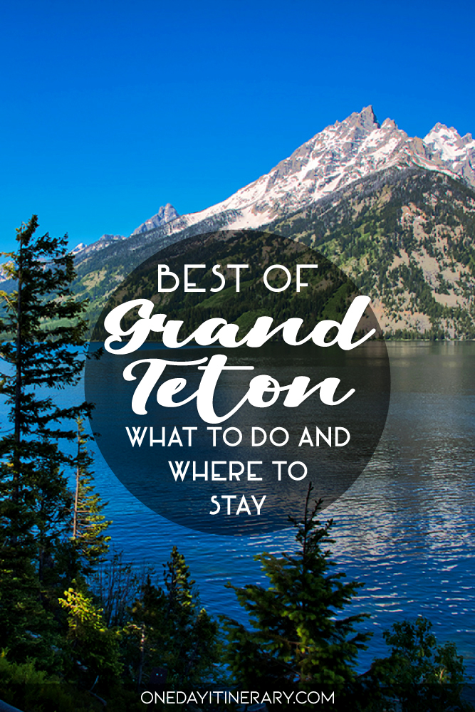 One day in Grand Teton