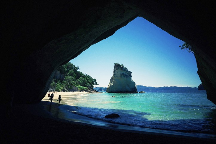 Chatedral Cove, Coromandel, New Zealand