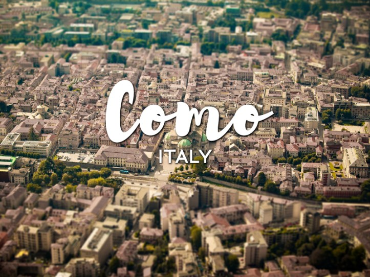 One day in Como, Italy