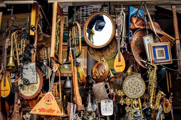 Flea Market in Monastiraki