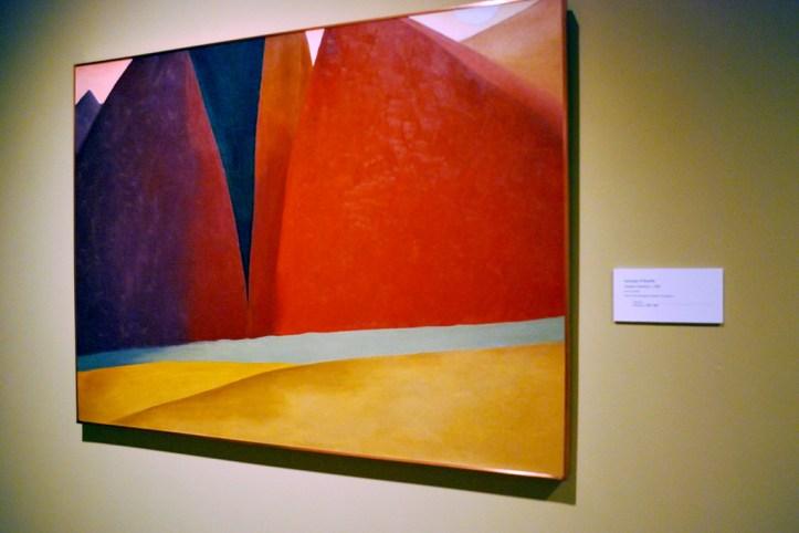 Georgia O' Keefe's Artwork, Santa Fe
