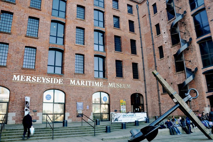 Meresyside Maritime Museum, Liverpool