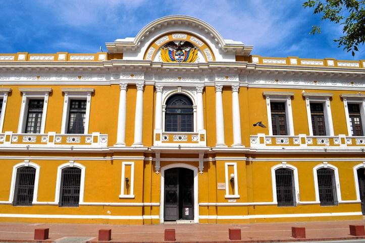 Plaza de Bolivar, Santa Marta