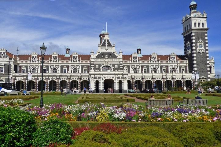 Railway station, Dunedin