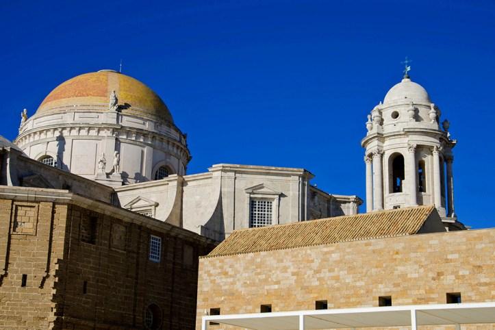 Cathedral in the Barrio del Pópulo, Cadiz