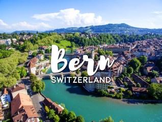 One day in Bern itinerary, Switzerland