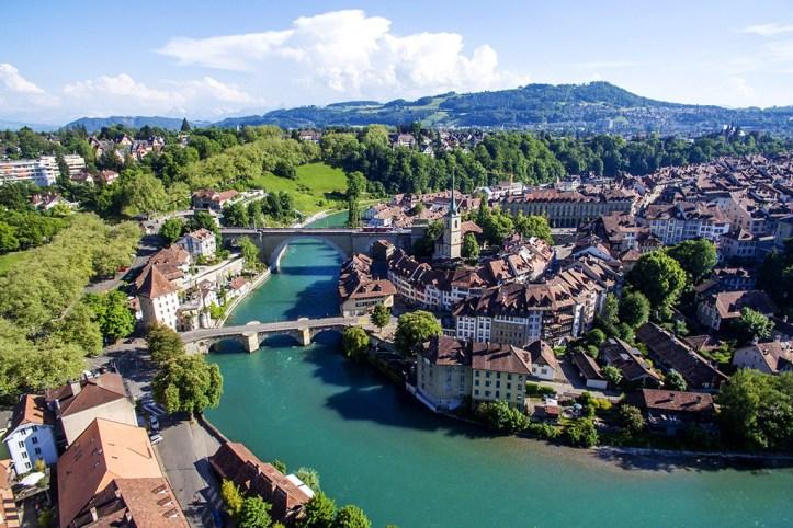 The Aare River, Bern
