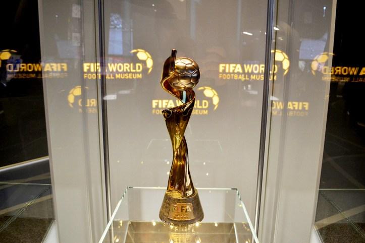FIFA Women's World Cup Trophy, Zurich