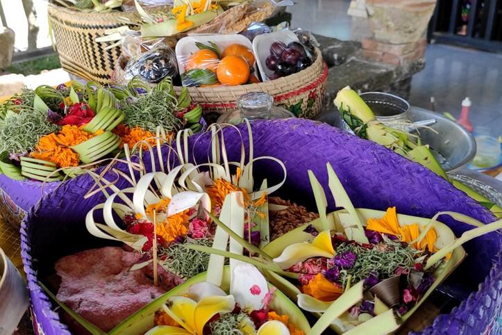 Offerings, Ubud
