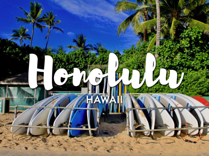 One day in Honolulu Itinerary