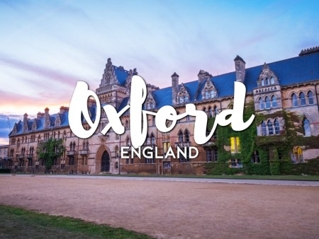 One day in Oxford itinerary, England