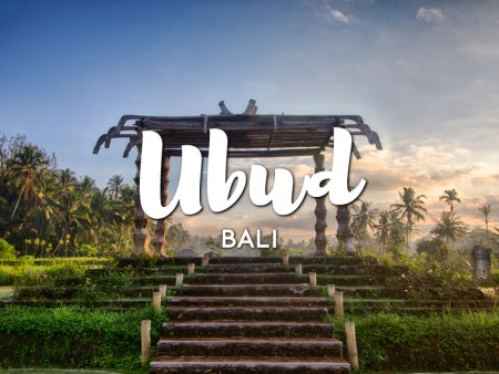 One day in Ubud itinerary, Bali
