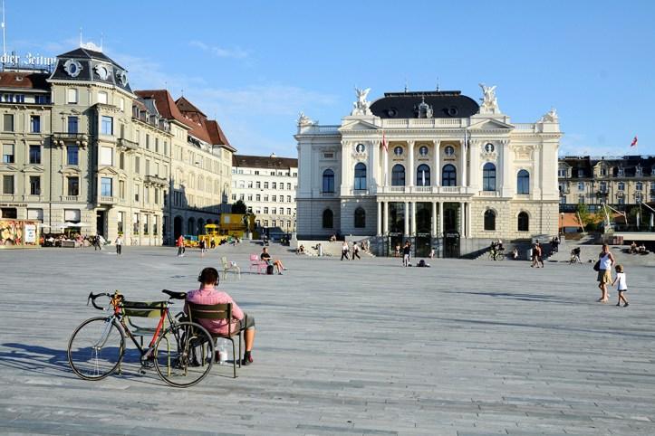 Opera house, Zurich