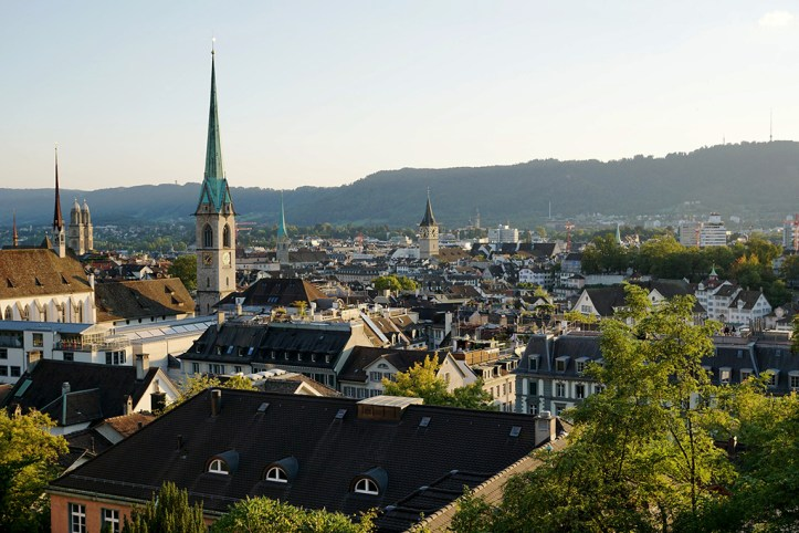 Rooftops of Zurich