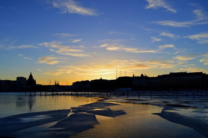 Sunset, Helsinki