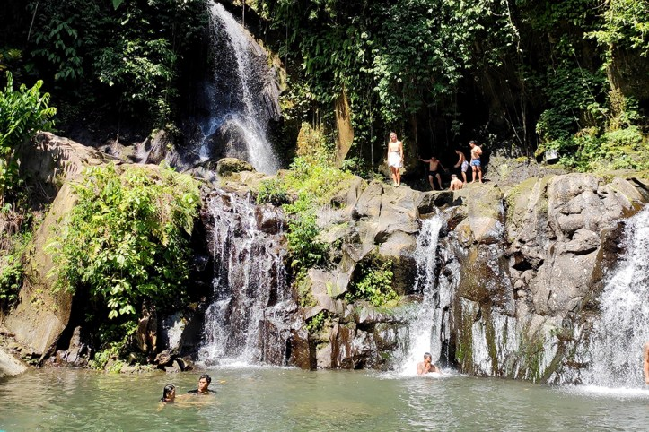 Taman Sari Waterfall. Ubud