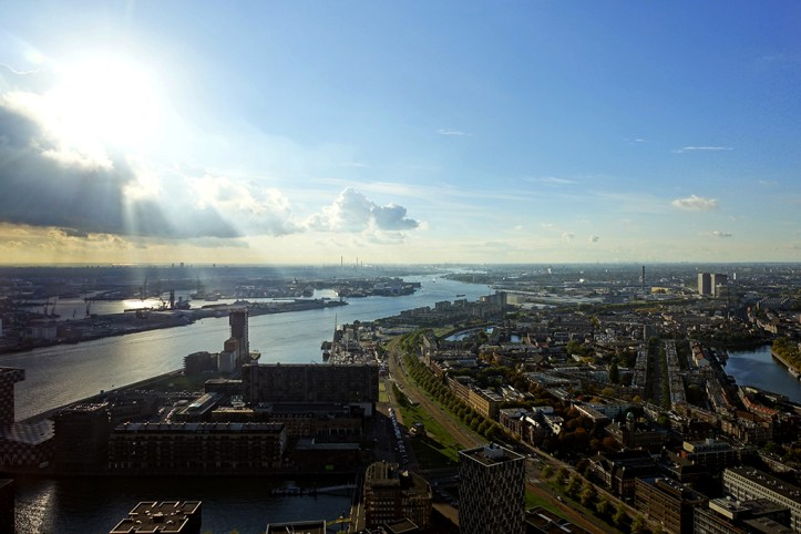 View From the Euromast Tower, Rotterdam