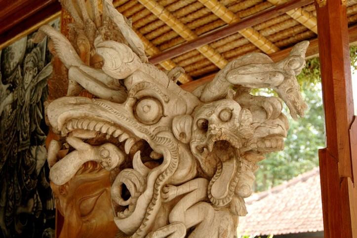 Woodcarving, Ubud