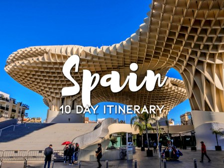 10 days in Spain itinerary