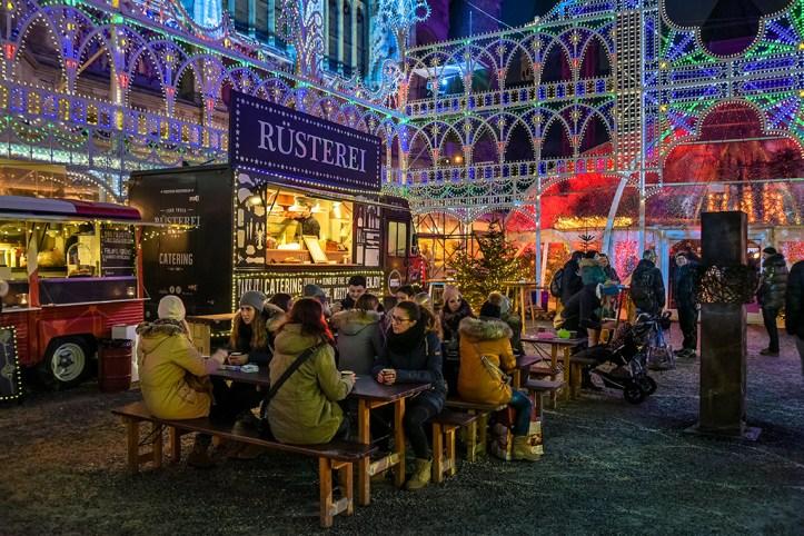 Christmas Market, Zurich