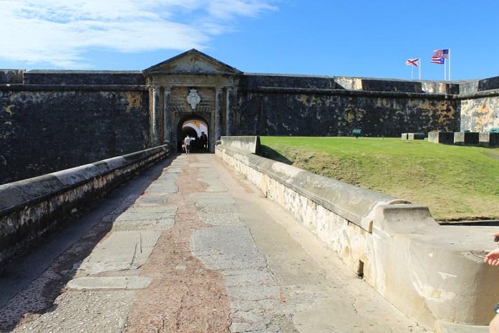 Entrance to the Castillo San Felipe Del Morro, San Juan