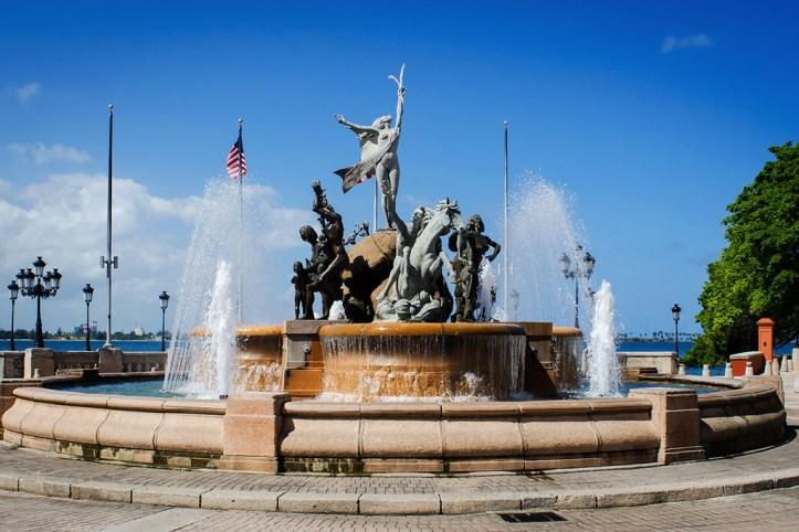 Raíces Fountain, San Juan